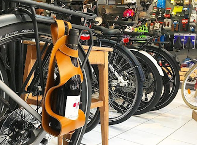 Intérieur magasin de vélos Nice